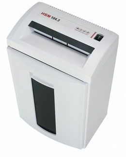 HSM 104 Paper Shredder